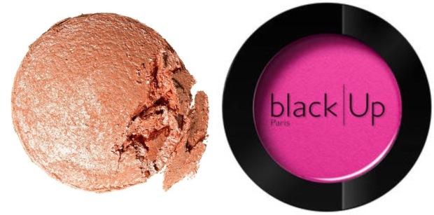 blush flash et cuivré pour peaux noires