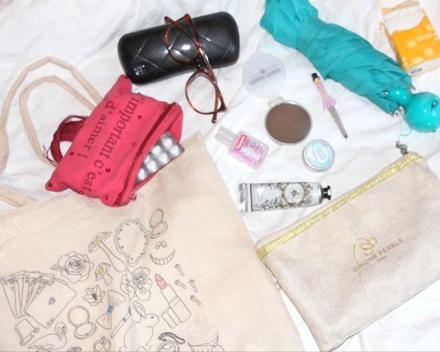 Ce qu'il y a dans nos sacs