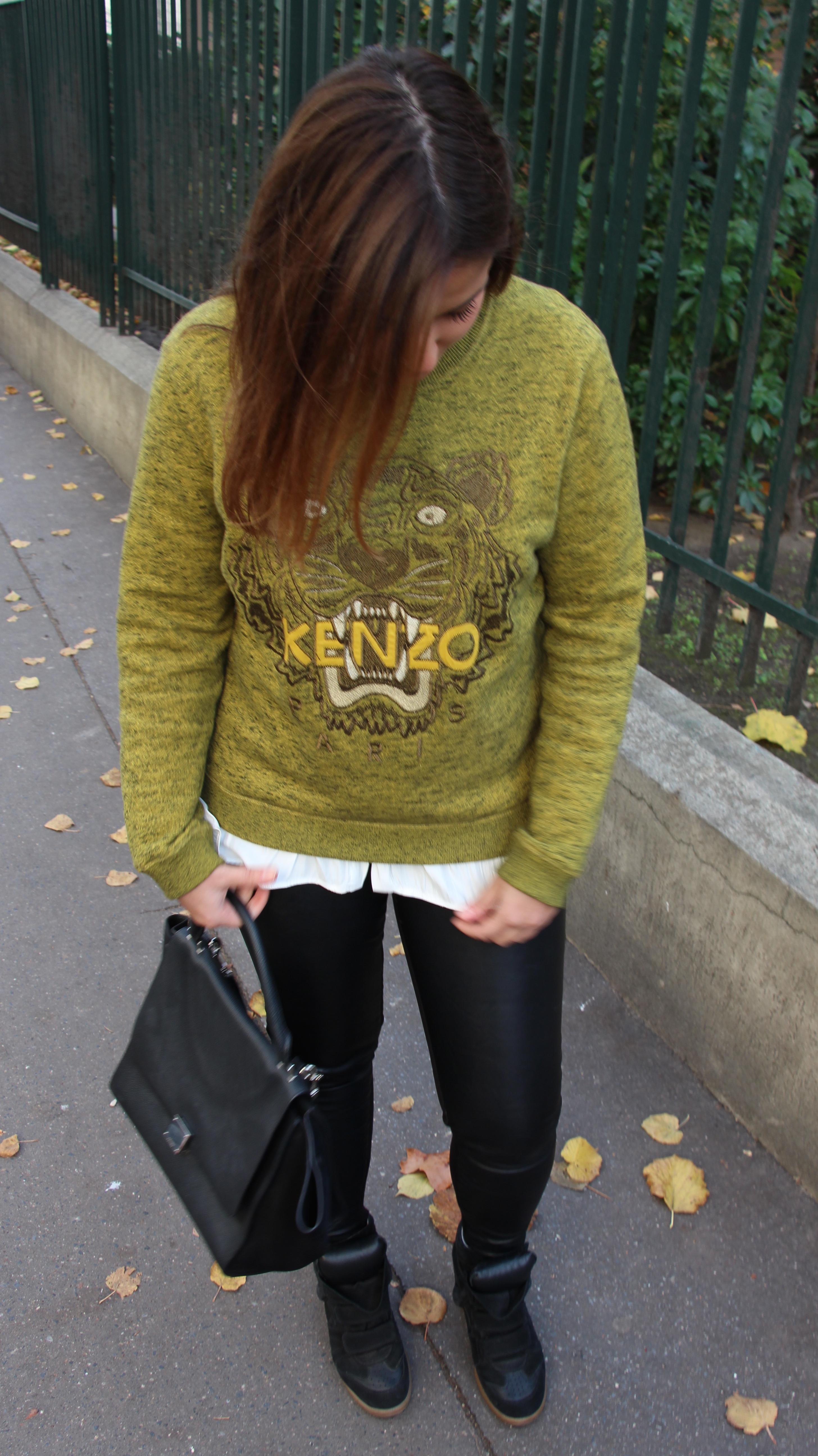 LOOK #7 : Sweater winter