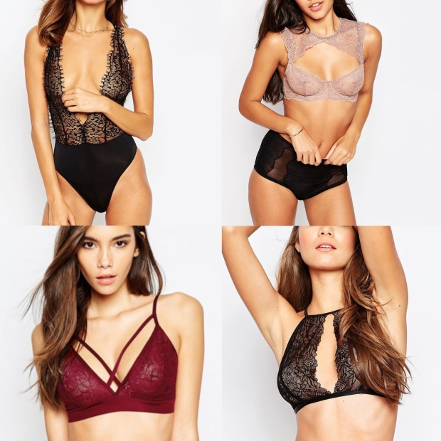 Shopping lingerie saint valentin